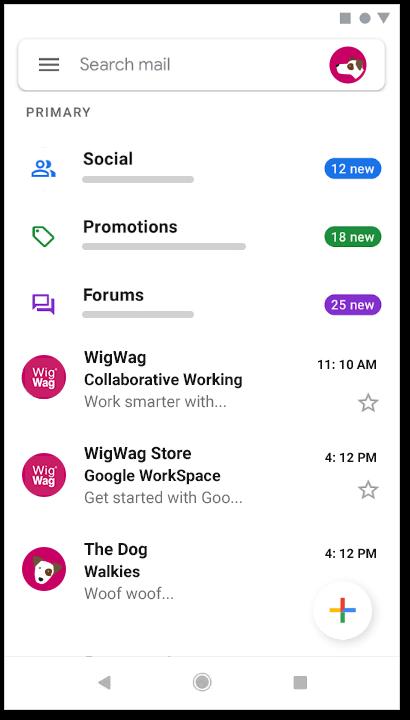Google workspace business