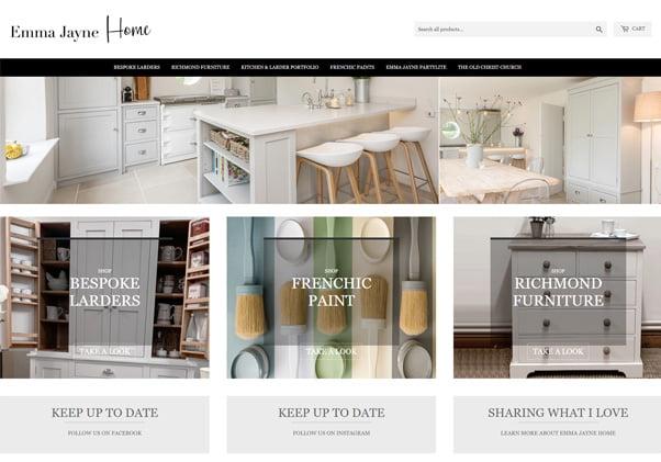 Shopify Online Shops Designed In Nottingham