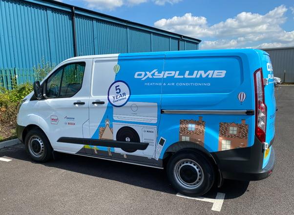 Custom Van Graphics For Oxyplumb