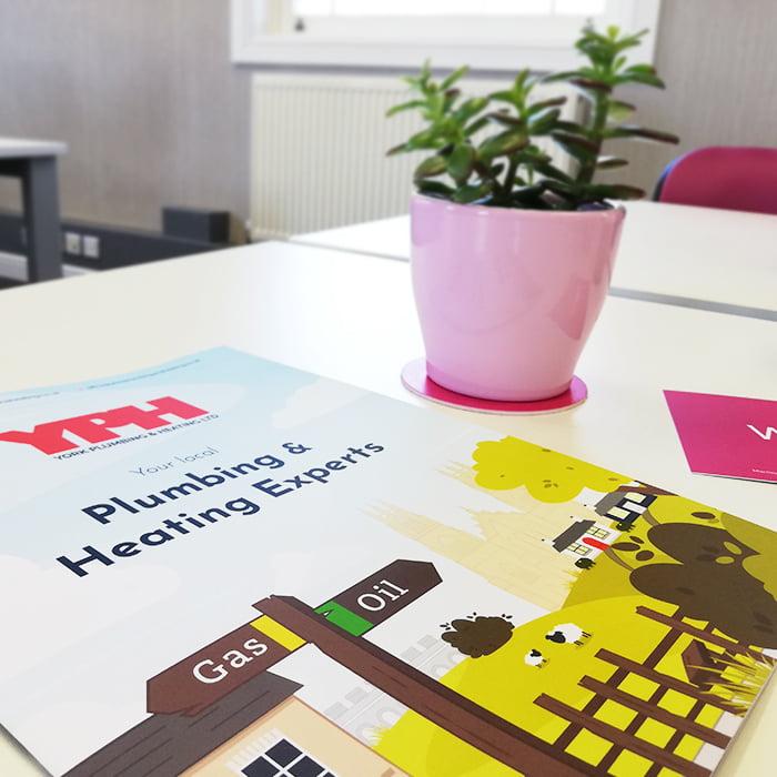 A4 brochure designs Nottingham