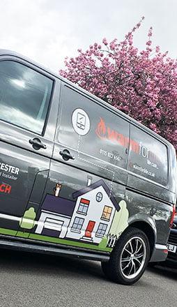 Custom van design Nottingham