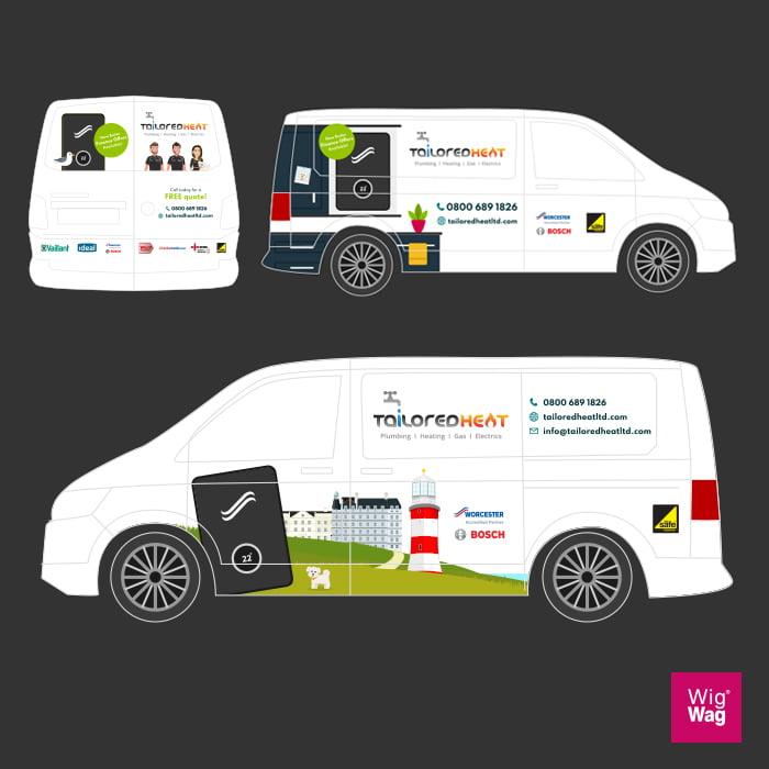 Van Design Wrap Nottingham