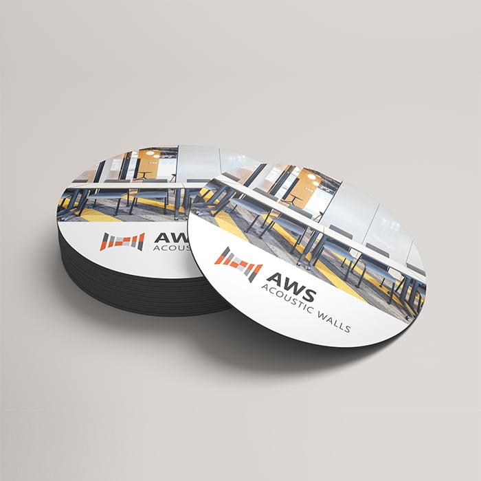 Branded coaster design