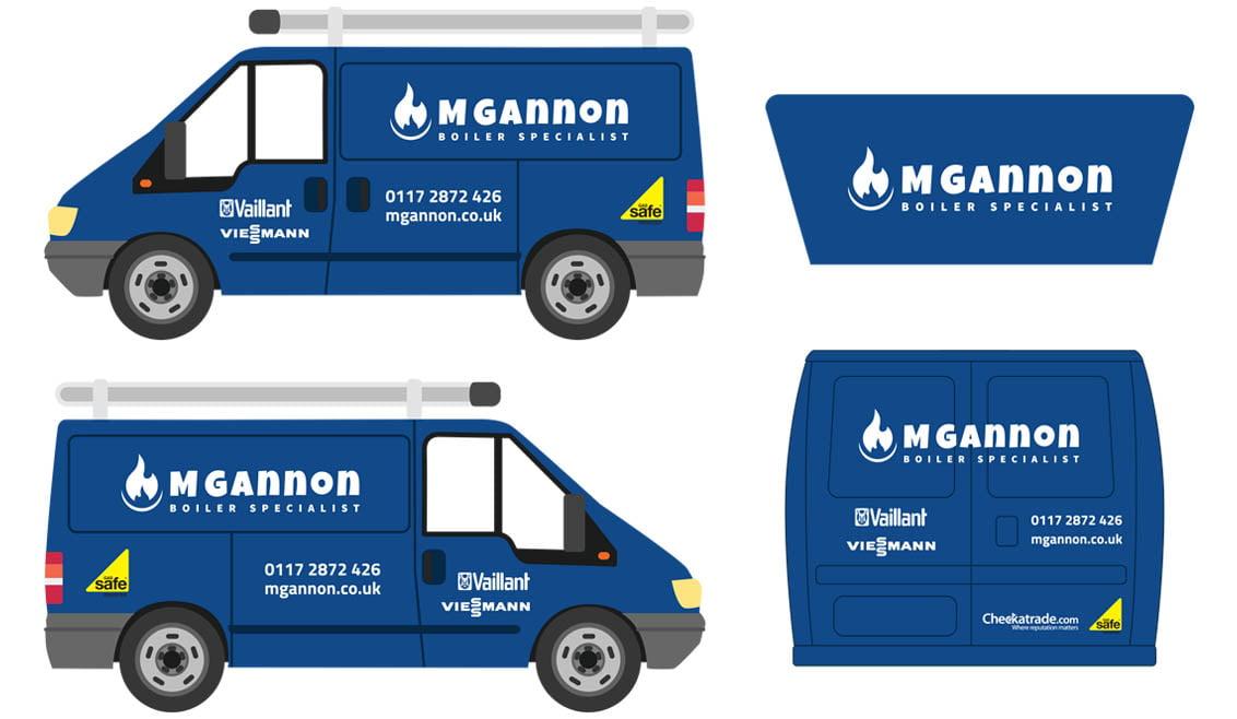 M Gannon simplistic Van Design