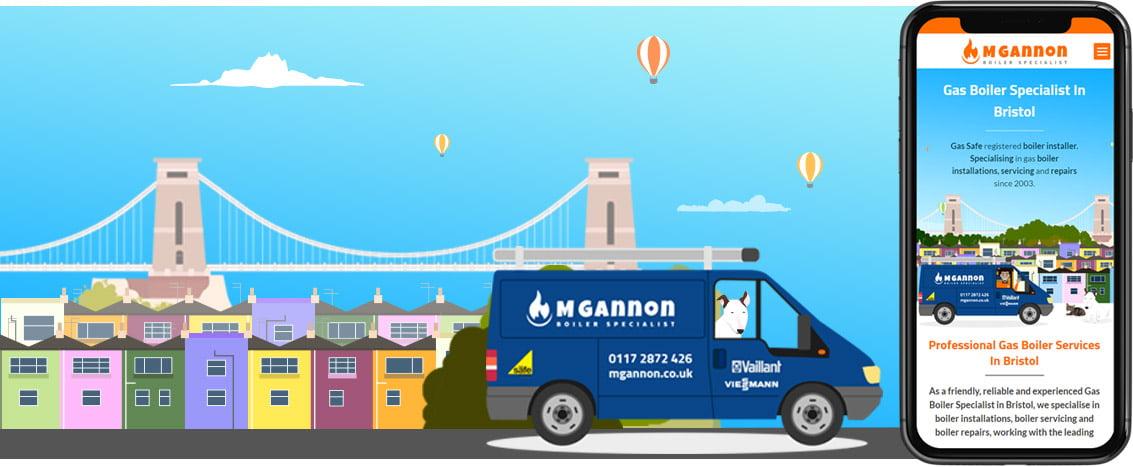 M Gannon Bespoke Bristol Web Design