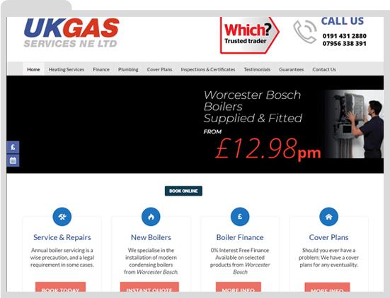 UK Gas Washington before WigWag Redesign