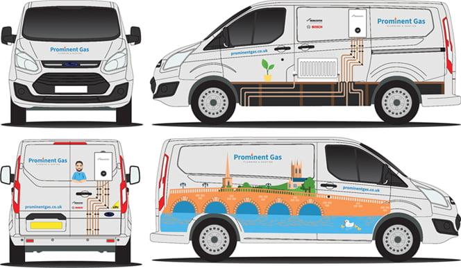 Heating Engineers Van Designs