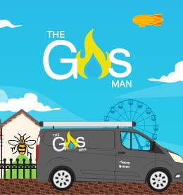 The Gas Man case study website