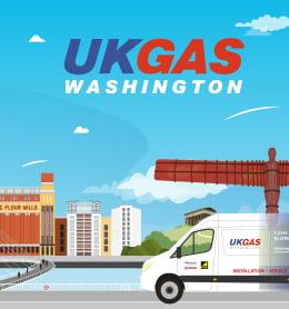 UK Gas Washington Case Study Website