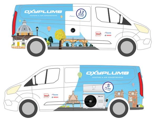 Van Designs for Plumbing & Heating Company