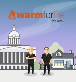 Warmforlife case study website