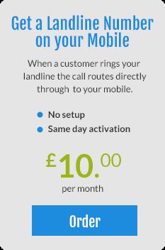 Landline number on your mobile