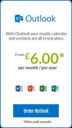 Outlook email hosting Nottingham