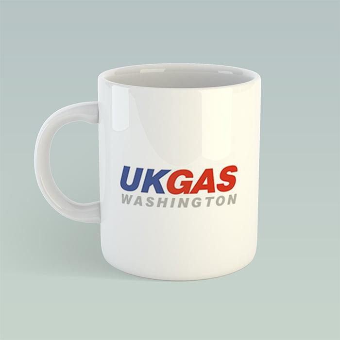 Standard branded mug design