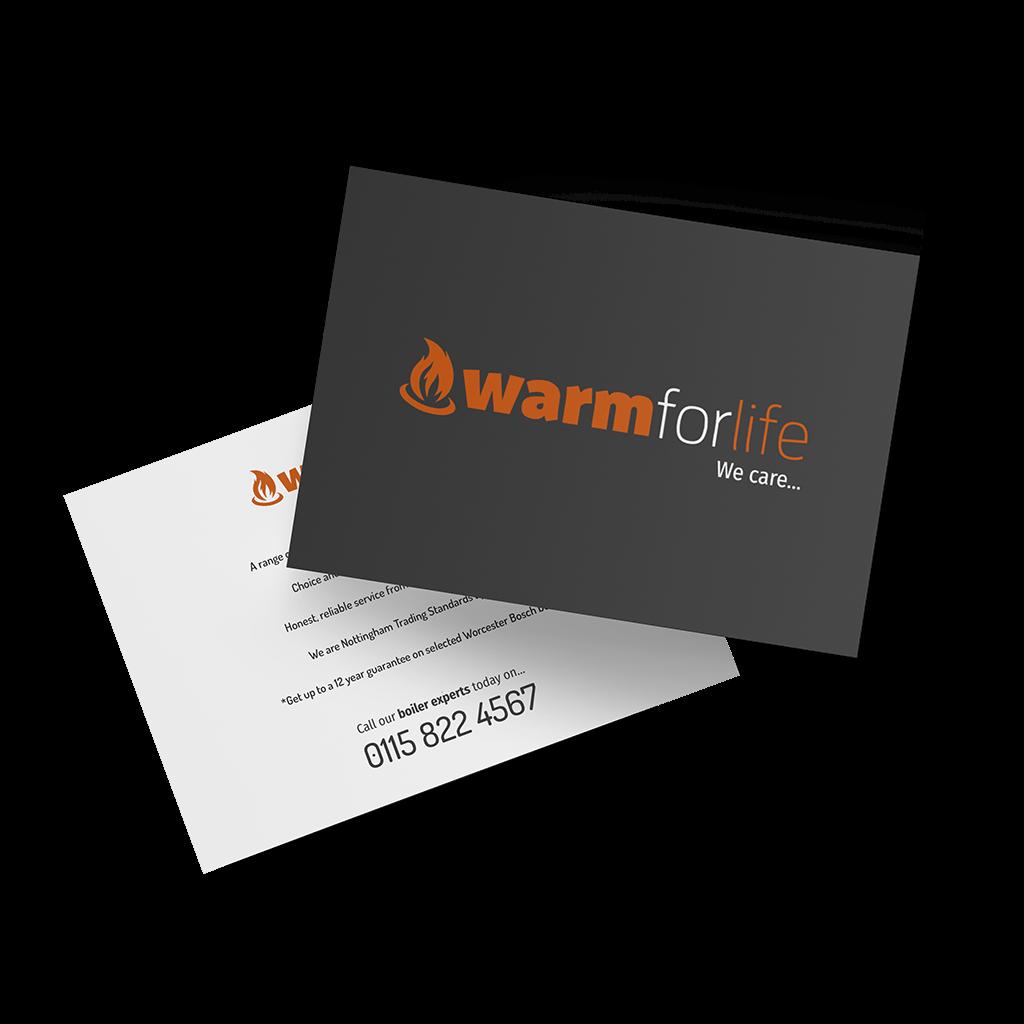 Heating engineers standard postcards